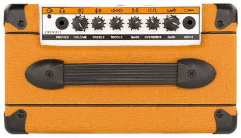 "Orange Amplification Crush 12 12W Guitar Amplifier with 6"" Speaker CRUSH12"