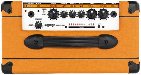 "Orange Amplification Crush 20RT 20W Guitar Amplifier with 8"" Speaker and Reverb CRUSH20RT"