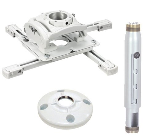 Chief Manufacturing KITPD012018W  Installation Kit for Projector Ceiling Mounts in White KITPD012018W