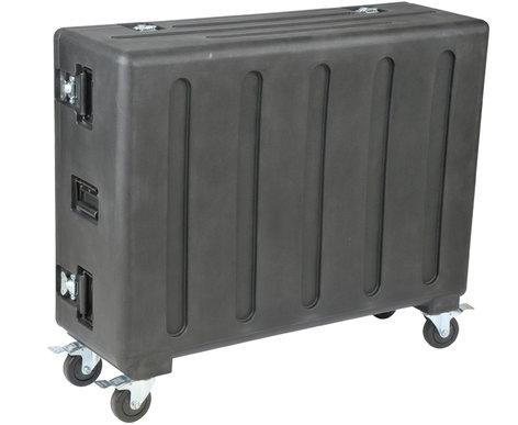 SKB Cases 1RMQU32-DHW Roto-Molded Flight Case with Wheels for Allen & Heath Qu-32 Mixer 1RMQU32-DHW
