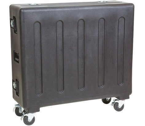 SKB Cases 1RMX32-DHW Roto-Molded Flight Case with Wheels for Behringer X32 Mixer 1RMX32-DHW