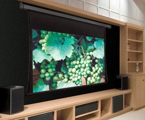 """Draper Shade and Screen 101186L  161"""" HDTV 16:9 Premier Electric Screen with Low Voltage Motor Option 101186L"""
