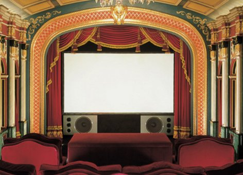 """Draper Shade and Screen 250086  7' 6"""" NTSC Cineperm Fixed Projection Screen 250086"""