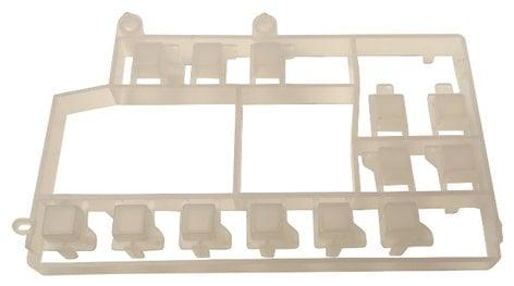 Fostex 8526016000 Fostex Recorder Block B Button Assembly 8526016000