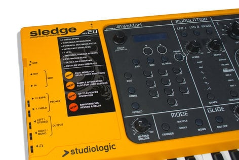 Studiologic Sledge 2.0 61-Note Synthesizer SLEDGE-2