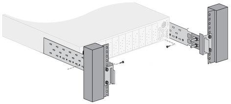 Ross Video FSB-OG3  Rear Support Bars & Brackets for OG3-FR Series Frame FSB-OG3