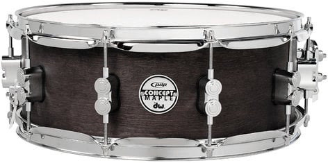 "Pacific Drums PDSN5514BWCR 5.5""x14"" Concept Series Black Wax Over Maple Snare Drum PDSN5514BWCR"