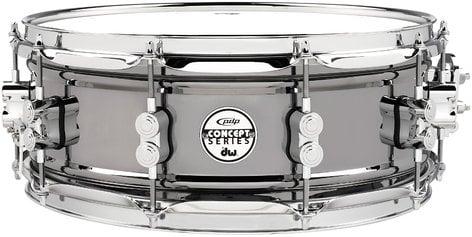 "Pacific Drums PDSN5514BNCR 5.5""x14"" Concept Series Black Nickel Over Steel Snare Drum PDSN5514BNCR"