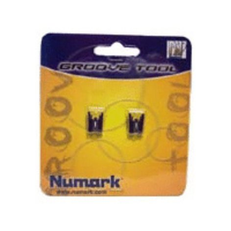 Numark GTRS Replacement Stylus for Groove Tool Cartridge (Pack of 2) GTRS