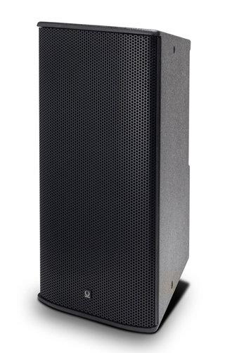 "Turbosound TCS-122/64-AN 12"" 600W (8 Ohms) 2-Way Full-Range Passive/Bi-Amp Loudspeaker with Klark Teknik DSP, ULTRANET Networking, and 60°x40° Dispersion in Black TCS122/64-AN"