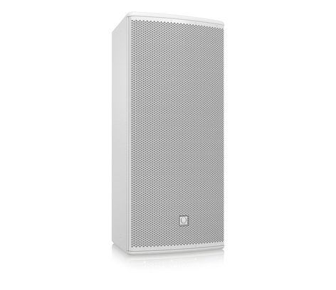 "Turbosound TCS-122/64-AN-WH 12"" 600W (8 Ohms) 2-Way Full-Range Passive/Bi-Amp Loudspeaker with Klark Teknik DSP, ULTRANET Networking, and 60°x40° Dispersion in White TCS122/64-AN-WH"