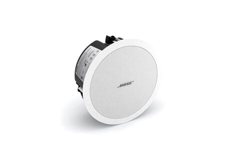 """Bose FreeSpace DS 40F 4.5"""" Full-Range Ceiling Loudspeaker with 70/100V Transformer or 8 Ohm Operation in White DS-40F-WHITE"""