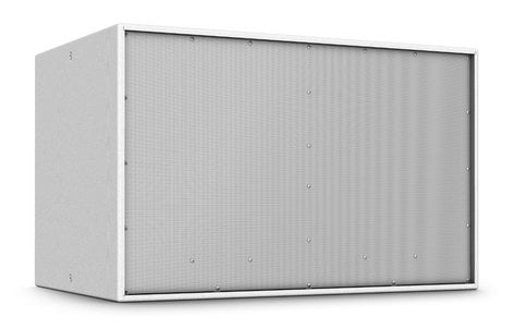 """Turbosound TCS218B-WH Dual 18"""" 1600W (4 Ohms) Passive Front-Loaded Subwoofer in White TCS218B-WH"""
