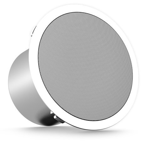 "Turbosound TCS52C-T-WH  5"" 60W 2-Way Full-Range Ceiling Loudspeaker with 70/100V Transformer or 16 Ohm Operation in White TCS52C-T-WH"