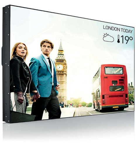 "Philips Commercial BDL5588XH 55"" XH Series Video Wall Display with Ultra Narrow Bezels BDL5588XH"