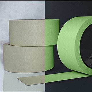 "Rose Brand P-661 Shurtape® A & E Glow Gaff 10 Yard Roll of 1/2"" W Glow-in-the-Dark Gaffers' Tape P661-1/2""X10YD"