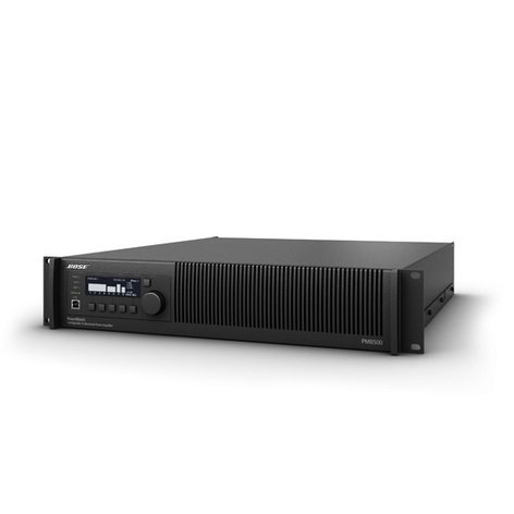 Bose PM8500 Configurable 8-Channel Power Amplifier with Onboard DSP PM8500