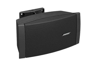"Bose DS 16SE FreeSpace Series 2.25"" Surface-Mount Loudspeaker in Black with 70/100V Transformer and Low Impedance Operation DS-16SE-BLACK"