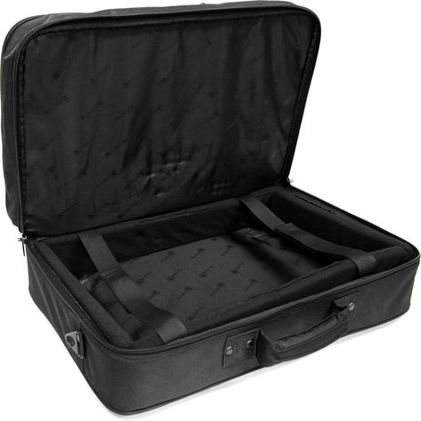 Arriba Cases AS322 Padded Soft Case for DJ Mixers with Laptop Storage Compartment AS-322