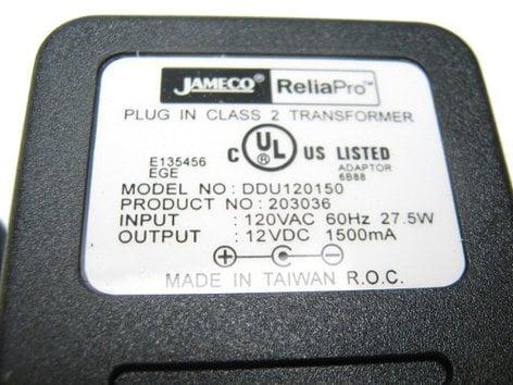 Korg T502ND Power Adapter T502ND