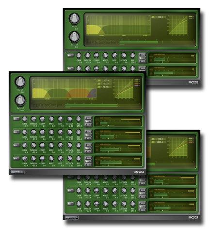 McDSP MC2000 Native Multi-Band Compressor Plug-in Bundle MC2000-NATIVE