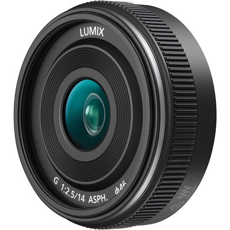 Panasonic H-H014AK LUMIX G 14mm f/2.5 ASPH II Lens with Micro Four Thirds Mount HH014AK