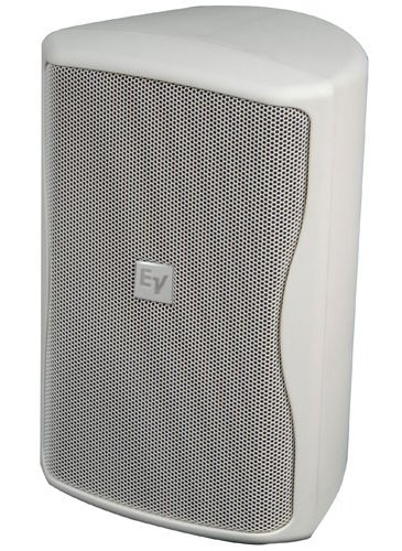 """Electro-Voice ZX1i 100TW 8"""" Indoor/Outdoor Speaker in White with 100° x 100° Coverage Pattern and Multi-Tap 70/100V Transformer ZX1I-100TW-BOSCH"""