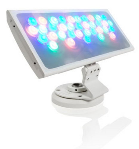 Philips Color Kinetics ColorBlast 12 IP66 LED Wash Fixture with 10 Degree Beam Angle in Black Housing 116-000025-03