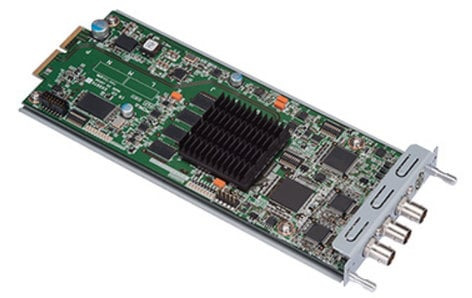 FOR-A Corporation HVS-100AI Analog Video Input Card for HVS-100 HVS-100AI