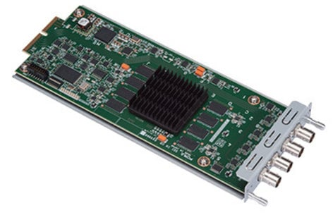 FOR-A Corporation HVS-100DI-A HD/SD-SDI Input Card for HVS-100 HVS-100DI-A