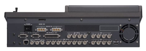 FOR-A Corporation HVS-110 Hanabi HD-SD Portable Video Switcher with Integrated Main Unit - Control Panel Type HVS-110