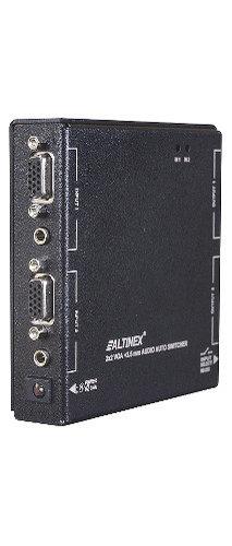Altinex MX2106AV 2-In & 2-Out VGA + 3.5mm Audio Auto-Switcher MX2106AV