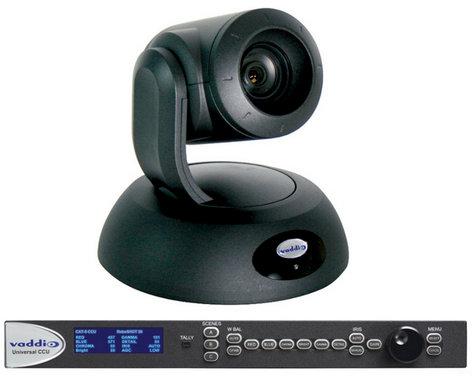 Vaddio RoboSHOT 30 QCCU System PTZ HD Camera System with 30x Lens and CCU Cat.5 ROBOSHOT-30-QCCUS