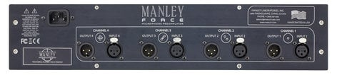 Manley Laboratories FORCE  4-Channel Tube Microphone Preamplifier FORCE