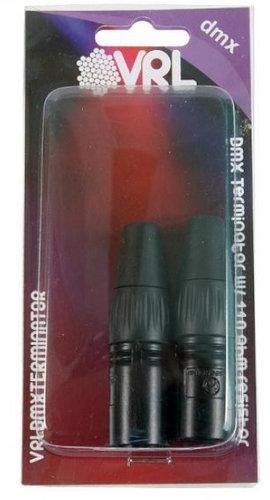 Elite Core VRLDMXTERMINATOR TerminatorSet 3 & 5 Pin DMX VRLDMXTERMINATOR