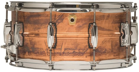 "Ludwig Drums LC663  6.5""x14"" Copper Phonic Snare Drum LC663"