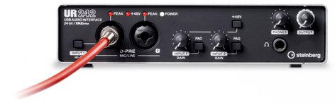 Steinberg UR242  4-Input / 2-Output USB 2.0 Audio Interface with MIDI I/O UR242