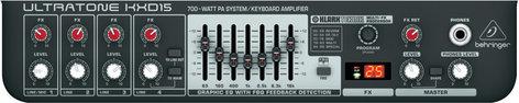 """Behringer Ultratone KXD15 700W 1x15"""" Keyboard Amplifier KXD15"""
