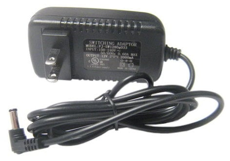 ikan Corporation AC-12V-2A-US Power Supply For VL7 AC-12V-2A-US