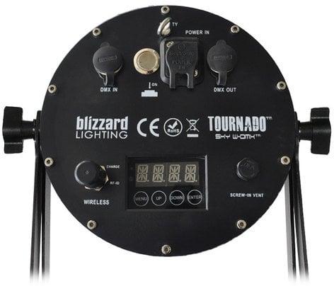 Blizzard Lighting TOURnado Sky W-DMX 7x 15W RGBAW+UV LED Par Fixture TOURNADO-SKY-W-DMX