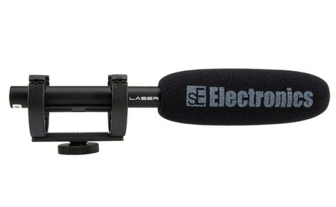 SE Electronics ProMic Laser Supercardioid Shotgun Condenser Microphone for DSLR Filmmaking LASER