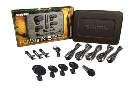 Shure PGADRUMKIT5 PG ALTA 5-piece Drum Microphone Kit PGADRUMKIT5
