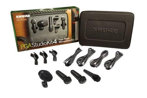 Shure PGASTUDIOKIT4 PG ALTA 4-Piece Studio Microphone Kit PGASTUDIOKIT4