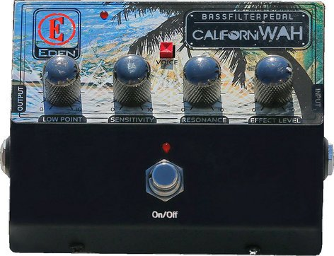 Eden Amplification CaliforniWAH Bass Filter Effects Pedal CALIWAH-U