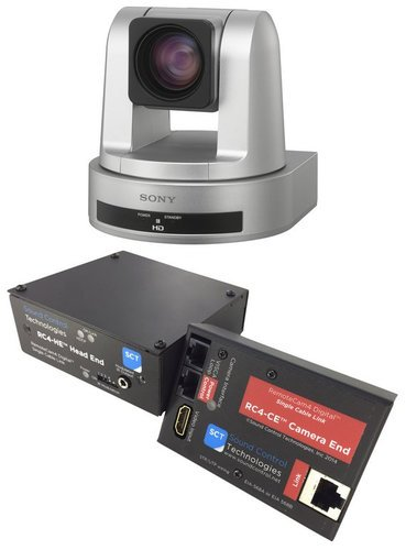 Sony SRG120DH/PAC4 SRG-120DH PTZ Camera Package with RC4-SRG Kit SRG120DH/PAC4