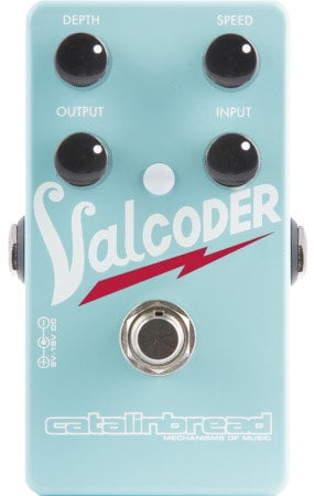 Catalinbread Pedals Valcoder Valco-Style Tremolo Guitar Pedal VALCODER