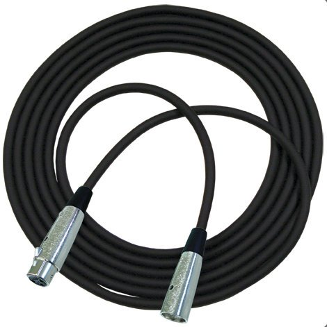 RapcoHorizon Music NBM5-25 25 ft Concert Series Microphone Cable with Neutrik Connectors NBM5-25