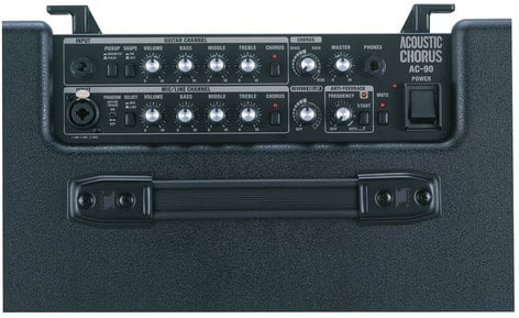 Roland AC90 2-Channel 90W Stereo Acoustic Guitar Amplifier AC90