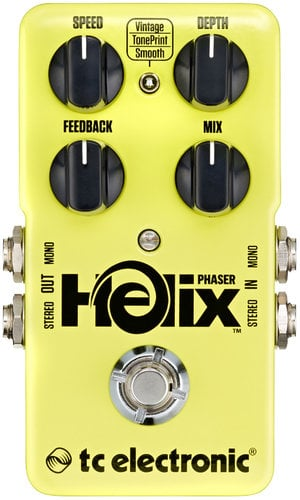 TC Electronic Helix Phaser Effects Pedal HELIX-PHASER