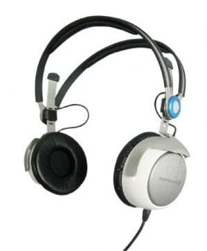 Beyerdynamic AT 1350 A 32 Ohm On-Ear Audiometry Headphones with Tesla Transducers and Unterminated Cable AT1350-A-32